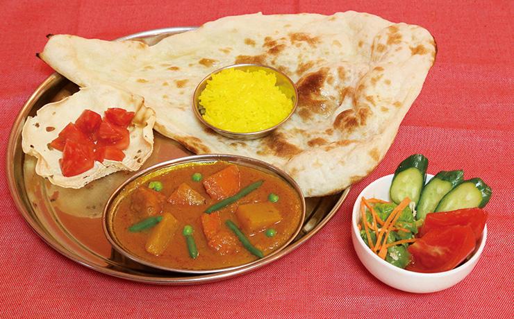 インド料理 カーンナワブ写真