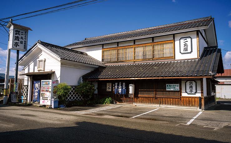 会津二丸屋武蔵亭写真
